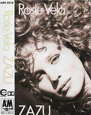 ROSIE VELA ZAZU CASSETTE ALBUM DONALD FAGEN WALTER BECKER LEFTFIELD DOWNTEMPO