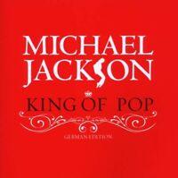 "MICHAEL JACKSON ""KING OF POP (BEST OF)"" 2 CD NEW"