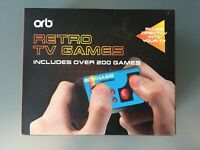 Brand New Orb Retro TV Games Plugs Directly into TV Includes Over 200 Games