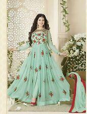 Stylish Designer Embroidered Gerorgette Bollywood Anarkali Salwar suit