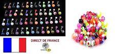 Lot 50 piercings nombril revendeur FR marché brocante bijoux