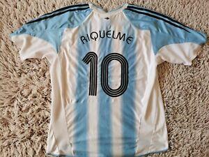 Argentina Home Shirt Riquelme #10 Jersey