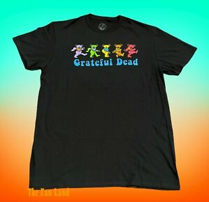 New Grateful Dead Dancing Bears Mens Vintage Concert T-shirt