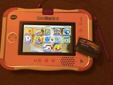 VTECH InnoTAB 3 S rose Kids Tuff Learning tablette console + GAME + téléchargements