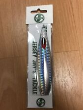 Jersey Jays Tackle Take Jig Silver Flash  180g Offshore Fishing New