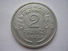 France 1945 aluminium 2 Francs, EF.