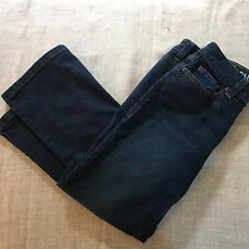 DKNY SOHO Womens Denim Jeans Pre-Owned 8R/R Cotton Flare Leg Style KCMUJ283
