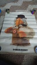 Harlequin Gallery Gift Wrap Set Of 7 Rare 1974 The Wombles Posters