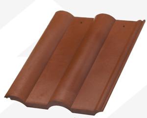 Double Roman Terracota - Plastic, PVC, Composite Roofing Tiles  3 colour