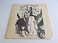 Bob Dylan Planet Waves LP 1974 Asylum The Band Textured Vinyl Record