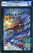 Amazing Spider-Man #1 - Cgc 9.8 - Sold Out - First Print - Relaunch