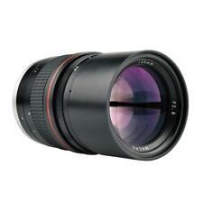 135mm F2.8 Manual Focus Lens Full-frame Macro EF Mount Adapter for Canon Camera
