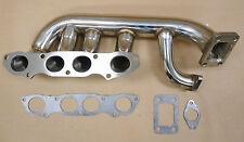 OBX Exhaust T3 Turbo Header Manifold Fit 2000-2009 S2000 2.0L 2.2L