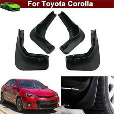 New 4 Mud Flap Splash Guard Fender Mudguard Mudflap For Toyota Corolla 2014-2018