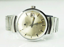 Vintage Men's Buren Standard Time 178 34mm Great Shape Wristwatch Manual Wind
