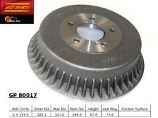 Brake Drum-Standard Rear Best Brake GP80017