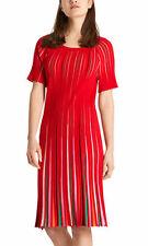 Marc Cain Pleated Knitwear Dress Size N 4 UK14  RRP £345.00