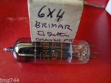 CV493 BRIMAR 6x4 square getter Arancio Stampa Nuovo Vecchio Stock VALVOLA TUBE O15A