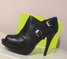 Original Versace High Heels Ankleboots Stilettos Peeptoes EUR 41 size US10 UK 8