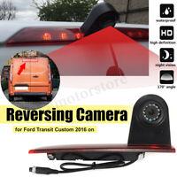 Third Brake Light Reversing Rear View Camera CMOS For Ford Transit Custom 16 On