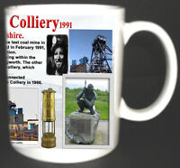 BAGWORTH COLLIERY COAL MINE MUG. LIMITED EDITION GIFT MINERS LEICESTERSHIRE PIT