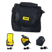 Universal Camera Lens Holster Shoulder Bag for Sony Canon DSLR Photography Black