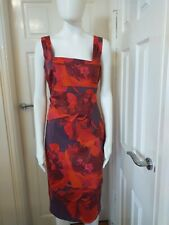 Karen Millen Print Occasion Dress. Size 14 UK.