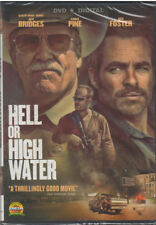 HELL OR HIGH WATER (DVD, 2016, Includes Digital Copy) NEW