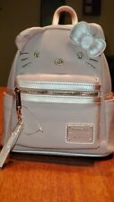 NEW Loungefly Sanrio Gorgeous Hello Kitty Metallic Pink Mini Backpack