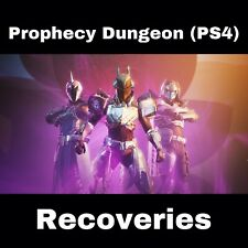 Destiny 2 Prophecy Dungeon (PS4) Recoveries