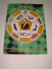 More details for hibernian fc 1998 rare programme the famous five lawrie reilly gordon smith