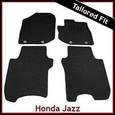HONDA JAZZ Mk3 2008-2015 Tailored Fitted Carpet Car Floor Mats BLACK
