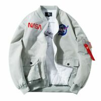NASA Joint Pilot Stand-Collar Jacket Plus-sized COUPLE'S Workwear
