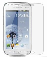 3 Anti Scratch Screen Protectors Samsung GT S7562 Galaxy S Duos Display Savers