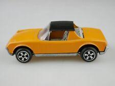 E 17 Polistil 1/43 VW Porsche 914 Targa orange black Speedwheels ohne Box 512643