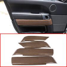 For Range Rover Sport (14-17) Sands Wood Grain Inner Door Panel Frame Cover Trim