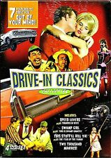 Drive-In Classics Collection. 7 RARE Cult Faves. New In Shrink!