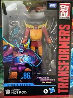 Transformers Studio Series Hot Rod Voyager 1986 movie 86-04 Perfect Box!