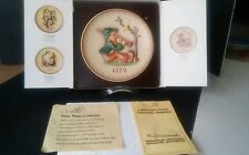 M. J. Hummel Goebel Annual Collector Plate 1979 in original box