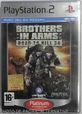 COMPLET jeu platinum BROTHERS IN ARMS ROAD TO HILL 30 sur playstation 2 sony PS2