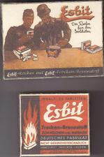 WW2 GERMAN ESBIT STOVE BOXES SET (REPRO)
