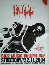 BOZZ - AZAD  2007  FRANKFURT  --  orig. Concert Poster - Konzert Plakat  A1  NEU