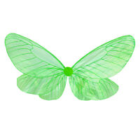 Adult Transparent Butterfly Wings Angel Wings Fairy Cosplay Party Costume Props