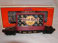 Lionel 6-26308 Hard Rock Cafe Flatcar w Billboards O 027 Flat Car Shelf Display