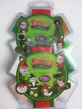Sculpey Christmas Traditions Oven Bake Clay Kits Lot of 2 -Ho Ho Ho/Picture Perf
