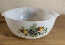 Vintage Arcopal Casserole Dish No Lid Milk Glass France