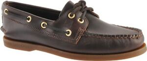 Sperry Top-Sider Authentic Original Boat Shoe (Men's) NEW - Amaretto Brown $100
