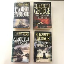 Elizabeth George Inspector Lynley Books - Blood Ashes Enemy What Came Before