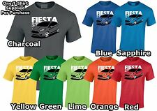 Ford Fiesta ST 2016 Inspired Mens T-Shirt Gift For Dad, Uncle, Brother ETC