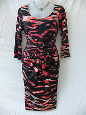 Miss Me Size 8-10 Dress 3/4 Slv Bodycon Corporate Work Evening Occasion FREEPOST